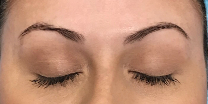 Before Microblaing- Brows By Bodine, DFW