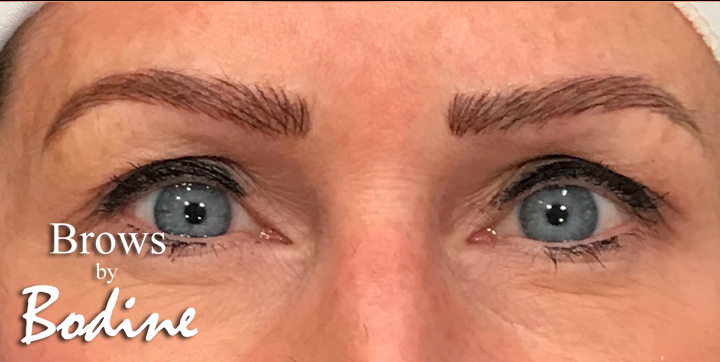 After Microblaing- Brows By Bodine, Fort Worth